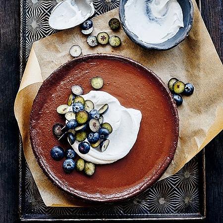 @donnahaymagazine baked chocolate tofu cheesecake Link Thumbnail   Linktree