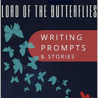 """www.AndreaGibson.com Purchase """"Lord of the Butterflies: Writing Prompts and Stories""""  Link Thumbnail 