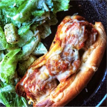 Chicken Parmesan Meatball Sub Recipe