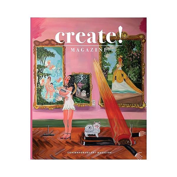 Create! Magazine Read Issue #26 Print or Digital  Link Thumbnail | Linktree
