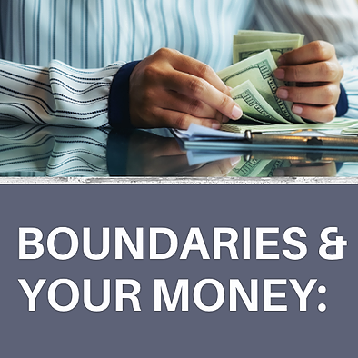 Increase Your Cash Flow w/ Me! eBook: Set Boundaries with Your Money! Link Thumbnail | Linktree