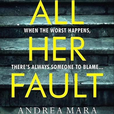 Andrea Mara Gutter Bookshop Pre-Order Link All Her Fault  Link Thumbnail | Linktree