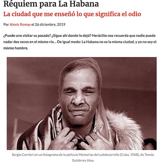@replicantemag: Réquiem para La Habana