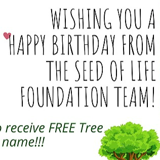 The Seed of Life Foundation Free Birthday Tree  Link Thumbnail | Linktree
