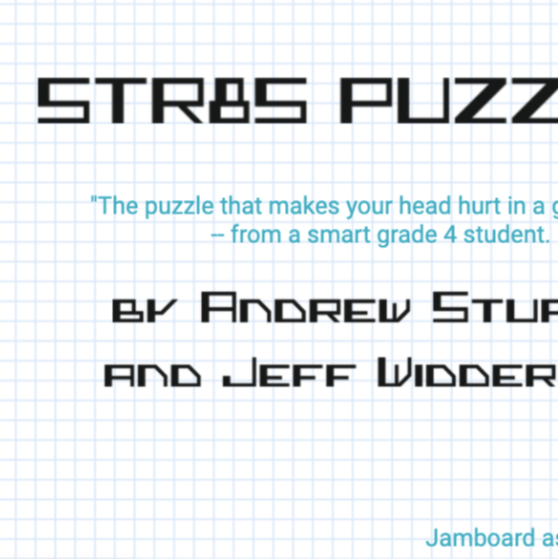 STR8s Puzzles *Puzzles for Math Lovers (Intermediate Grades)