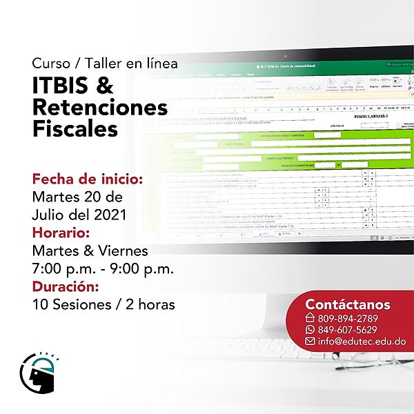 ITBIS Y RETENCIONES FISCALES - Martes 20 Julio