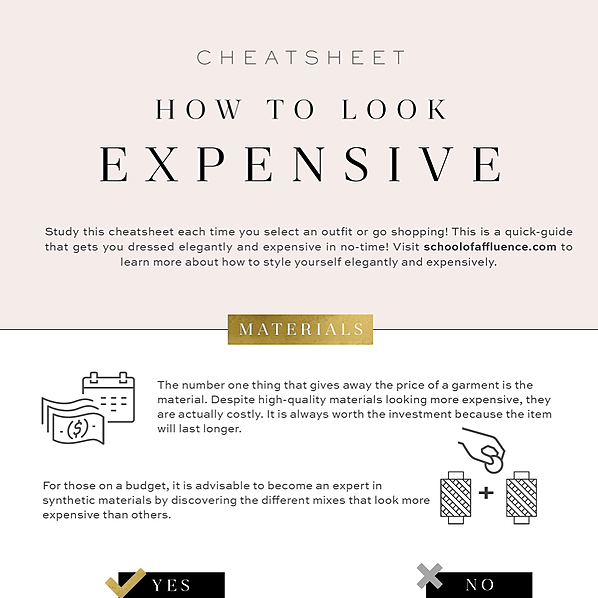 @annabey FREE CHEATSHEET: How To Look Expensive On Any Budget! Link Thumbnail   Linktree
