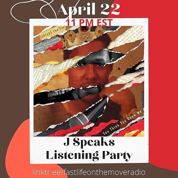 Listening Party Live Thursday April 22, 2021 @ 10pm CST 11pm CST 8pm PST