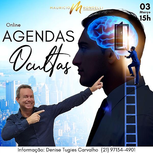 """Workshop """"Agenda Ocultas""""- 10/03- 15h- ONLINE"""