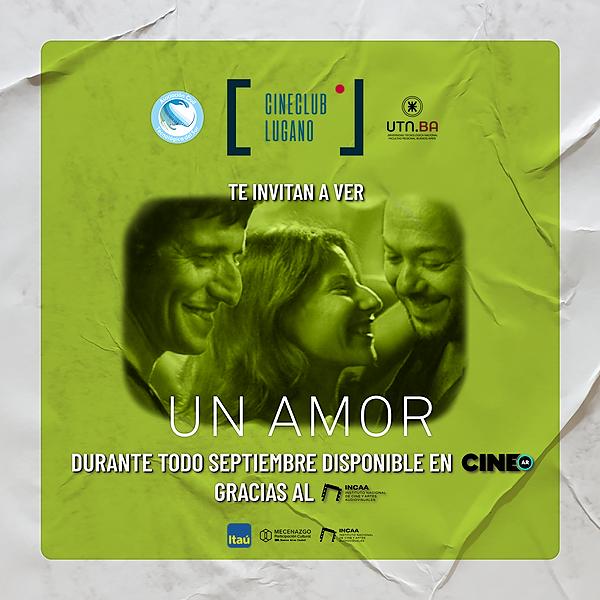 Cine Club Lugano Ver - Un amor Link Thumbnail   Linktree