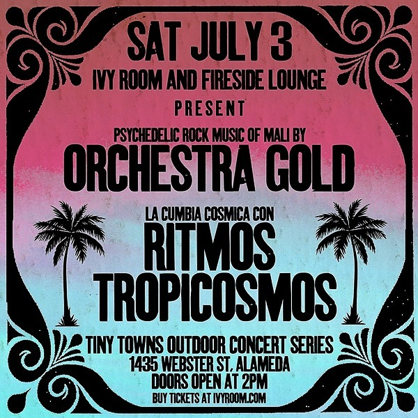 @ritmos_tropicosmos Ivy Room & Fireside Lounge Present Ritmos Tropicosmos and Orchestra Gold! July 3, 2021 2PM Link Thumbnail | Linktree
