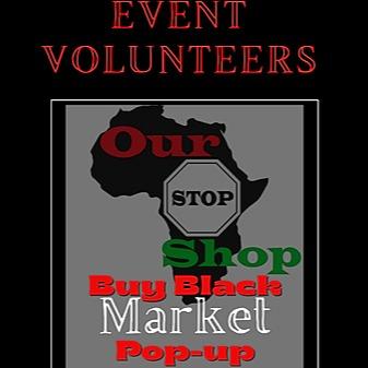 Our Stop Shop Buy Black Market Volunteer sign up Link Thumbnail | Linktree
