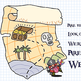 Treasure Map *A short warm up for factors and multiples