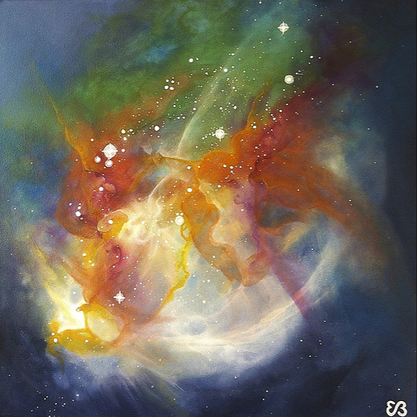 #painting 🎨 Collection Celestial Visions