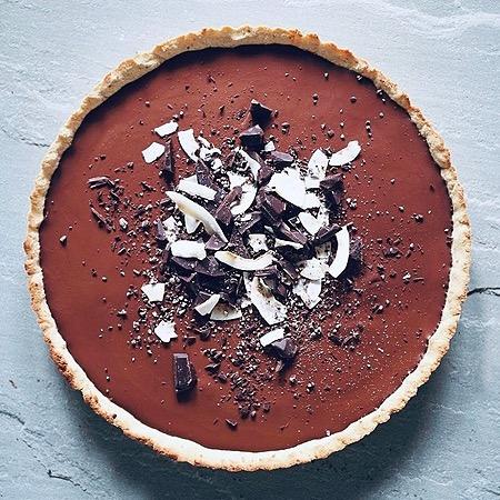 ceciliafolkesson.se Glutenfri chokladpaj Link Thumbnail | Linktree