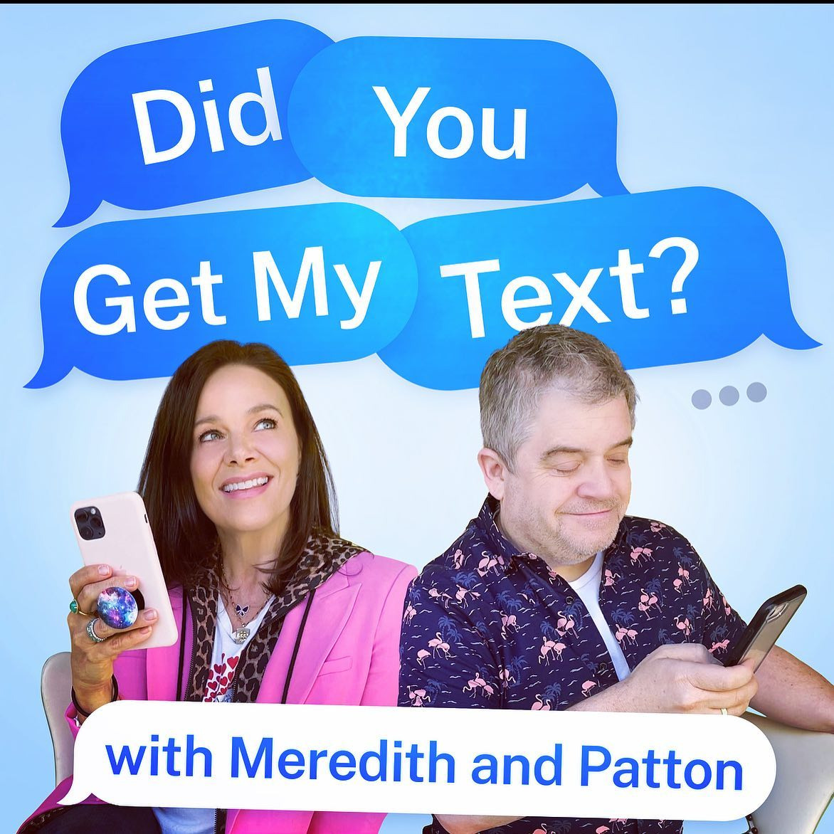 @MeredithSalenger Did You Get My Text?  PODCAST Link Thumbnail | Linktree