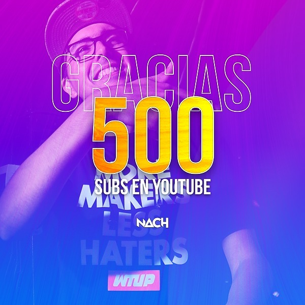500 Subs Thanks Pack - FREE
