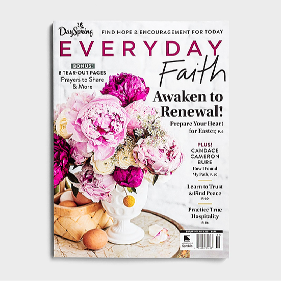 Everyday Faith Magazine & DaySpring $20 off $100 with code SPRING20