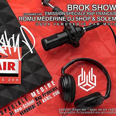 @brokshow Brok Show Spéciale Médine - 23.04.2021  Link Thumbnail   Linktree