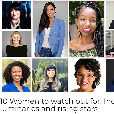 10 Women to watch out for: Industry luminaries and rising stars