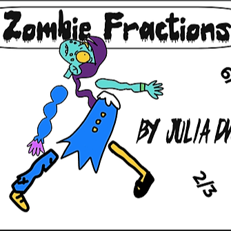 Meet the Zombinoffs: Fractions with Zombies