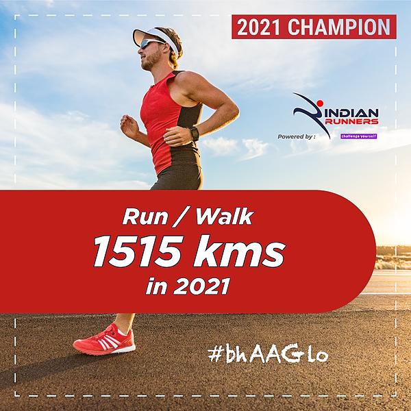 Indian Walkathon Walk 1515 Kms in 2021 Link Thumbnail | Linktree