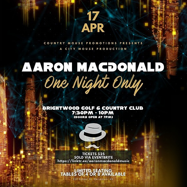 One Night Only at Brightwood Tickets - SOLD OUT