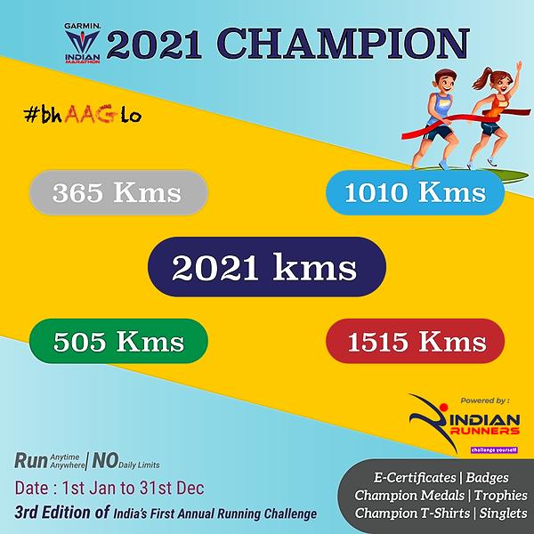 @IndianMarathon Champion of Running 2021 Link Thumbnail | Linktree