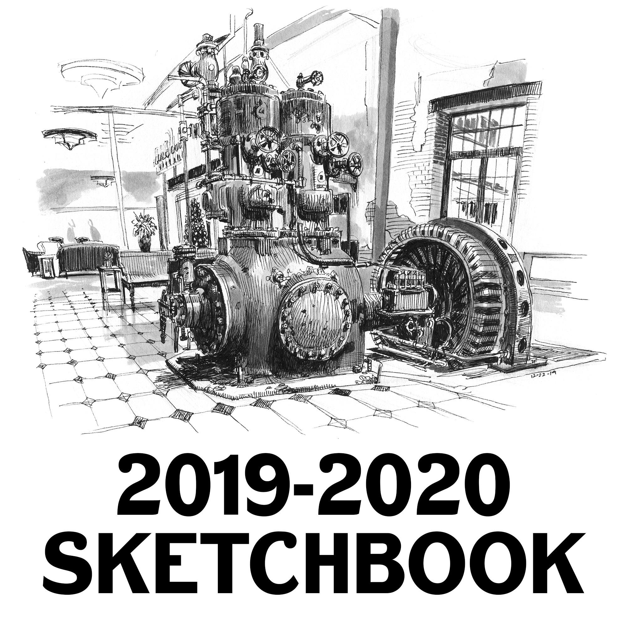 @paulheaston book: 2019-2020 sketchbook Link Thumbnail | Linktree