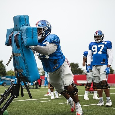 Giants Country B.J. Hill, DL - 2021 Giants Training Camp Preview (Photo by Giants.com) Link Thumbnail   Linktree
