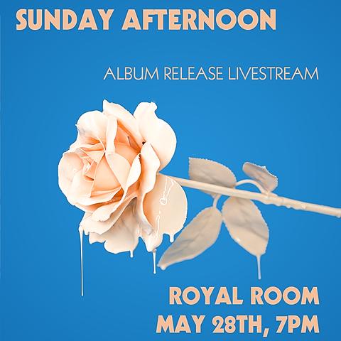 RSVP to our Album Release Live Stream 5/28