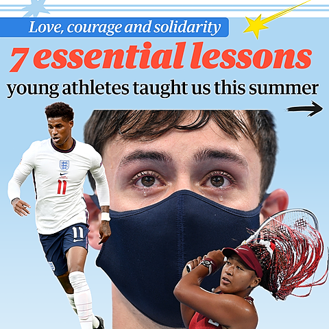 @guardian Love, courage and solidarity: 20 essential lessons young athletes taught us this summer Link Thumbnail   Linktree