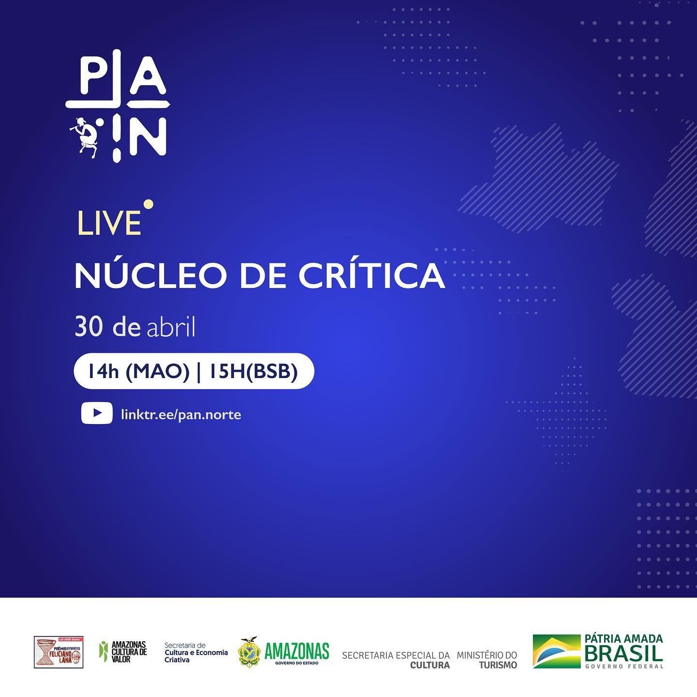 Potência das Artes do Norte Núcleo de Crítica 2021 - LIVE Link Thumbnail | Linktree