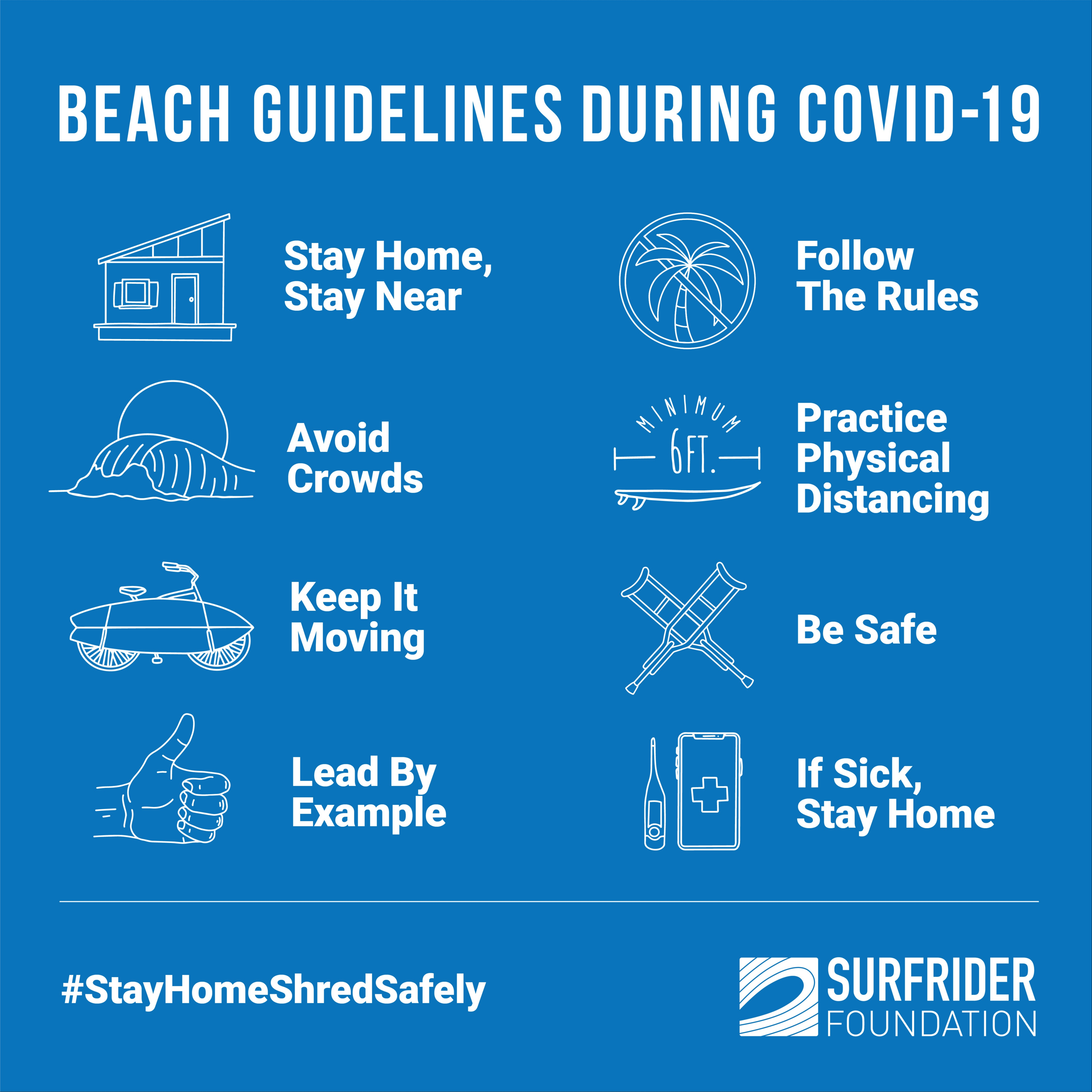 [Updated] Beach Guidelines During COVID-19