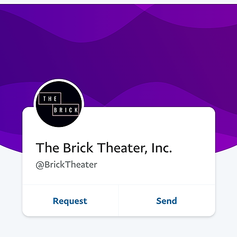 @BrickTheater Donate Link Thumbnail | Linktree