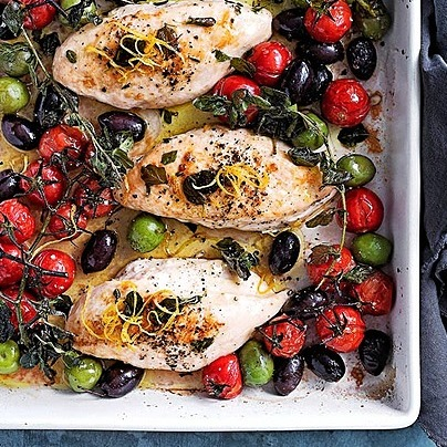 @donna.hay tray-baked chicken with tomato and olives Link Thumbnail   Linktree