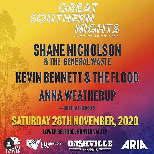 GREAT SOUTHERN NIGHTS - TICKETS