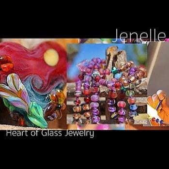 @JenelleAubade Heart of Glass Jewelry INSTAGRAM Link Thumbnail | Linktree