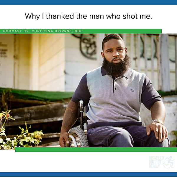 Why I Thanked the Man That Shot Me