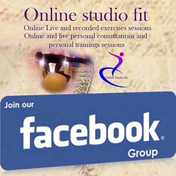 @Onlinestudiofit Online Studio Fit Facebook group Link Thumbnail | Linktree