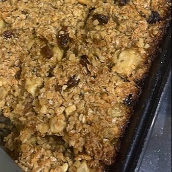 @Graces_bakes Apple and raisin flapjack Link Thumbnail   Linktree