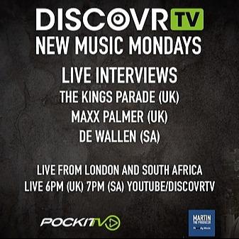 @dewallen DiscovrTV New Music Mondays - De Wallen Interview Link Thumbnail   Linktree