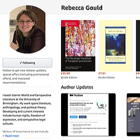 Writer, Translator, Professor my books on Amazon.com Link Thumbnail   Linktree