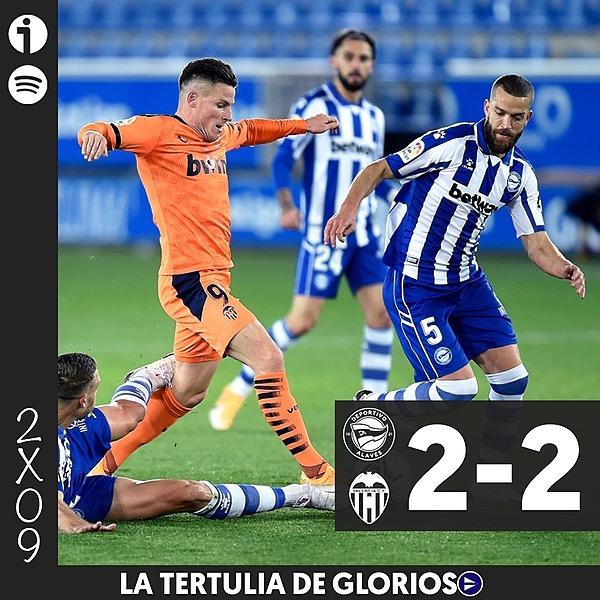 🎙️ 2x09 | Tertulia del Alavés 2-2 Valencia