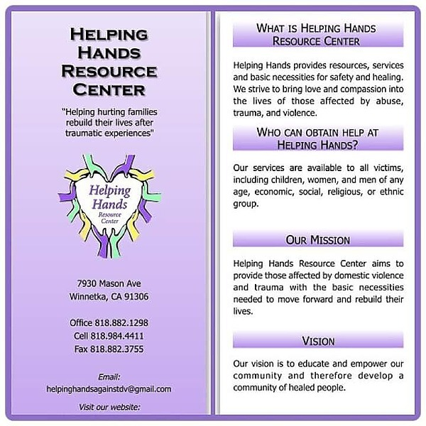Karen M Gonzalez Helping Hands Resource Center Link Thumbnail | Linktree