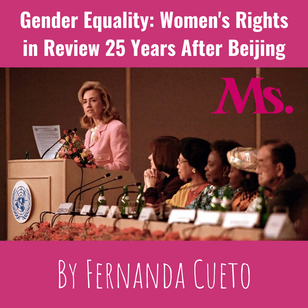 Ms Article - Gender Equality: Women's Rights in Review 25 Years After Beijing