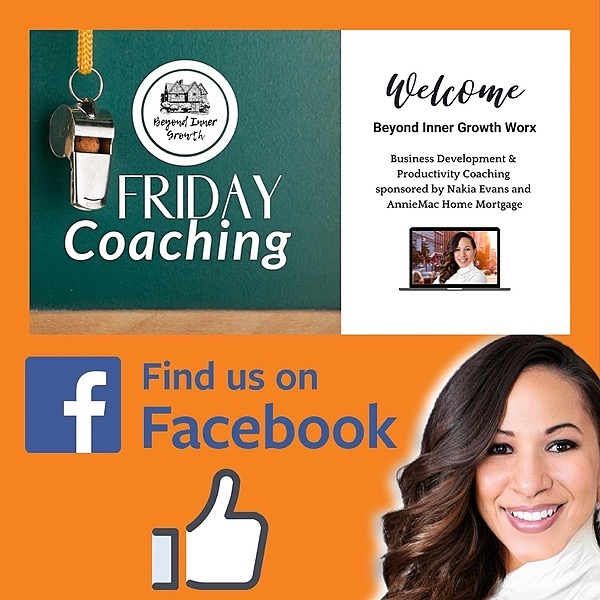 Nakia Evans | Leadership Coach Free Friday Coaching for REAL ESTATE AGENTS Link Thumbnail | Linktree