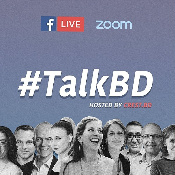 CREST.BD Tune in to #TalkBD 📢 Link Thumbnail | Linktree