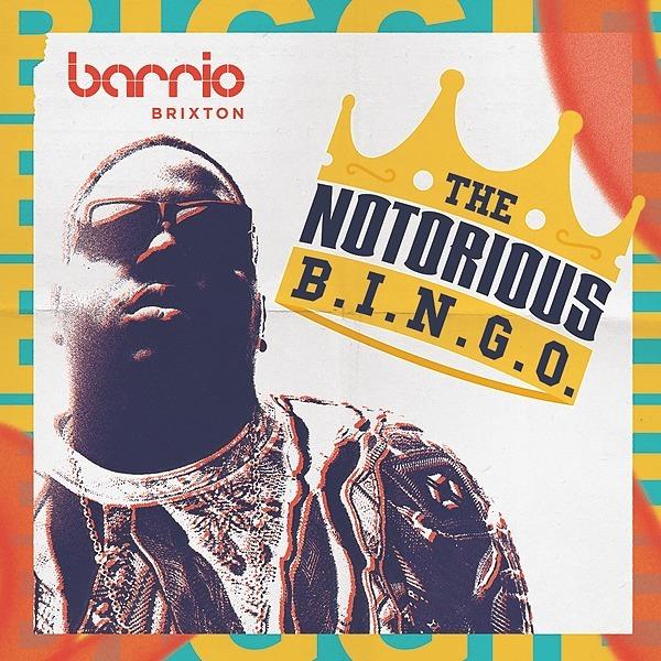 Notorious B.I.N.G.O. 90s Hip Hop Musical Bingo - Brixton