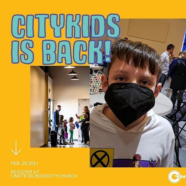Virtual City Kids Worship 8:40